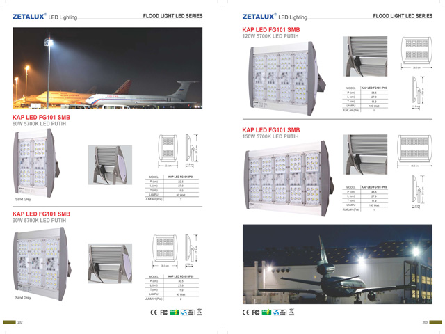 202 - 203 Flood Light LED Series Website