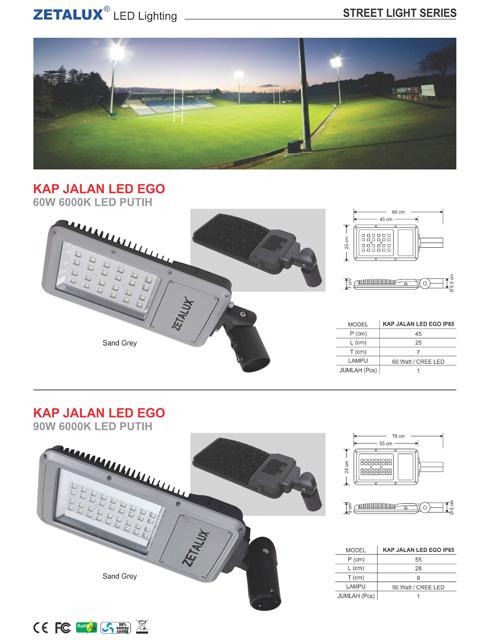 Kap Jalan LED EGO
