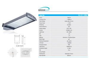 Lampu Jalan LED 98 Watt HL-8111 Hinolux