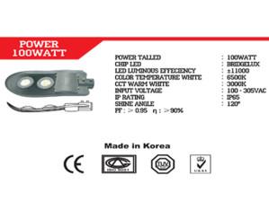 Lampu Jalan LED IP 66 Talled 100 Watt