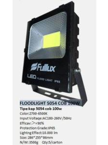 Lampu Sorot LED 100 Watt COB