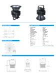 Lampu Sorot LED Spot 200 Watt HL-7118 Hinolux