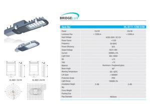Lampu Jalan LED 12-24 Watt HL-8111 Hinolux