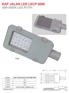 Lampu Jalan LED 30 Watt Zetalux