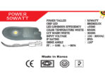 Lampu Jalan LED IP66 Talled 50 Watt