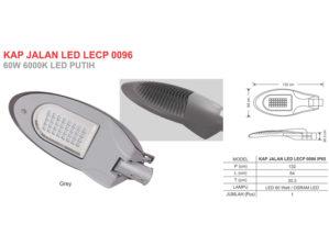 Lampu Jalan LED 60 Watt Zetalux