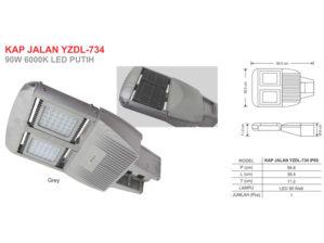 Lampu Jalan LED 90 Watt Zetalux